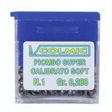 COLMIC Pallino Piombo Super Calibrato Spaccato Soft