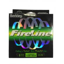 Berkley Dyneema FireLine Fluorescent Flame Green 6 LB 125 YD