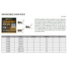 Maver Ami Legati Invincibile Hair Rigs CS 24  Size 12  Ø 0.22 mm