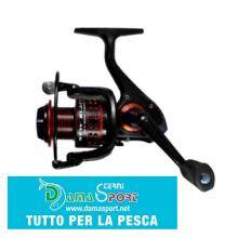 ALCEDO ALLUX NEW BLACK 2500 MULINELLO DA PESCA 5 CUSCINETTI