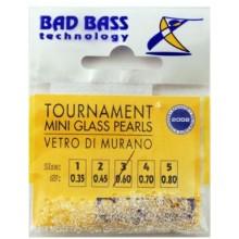 BAD BASS TOURNAMENT MINI GLASS PEARLS