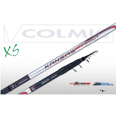 CANNA COLMIC KANSAS TROUT TROTA TORRENTE