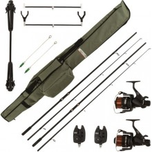 SET CARPFISHING MITCHELL COMPLETE CARP SET COMBO GT PRO CARP