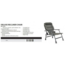 STARBAITS Deluxe Recliner Chair Sedia Reclinabile con Braccioli