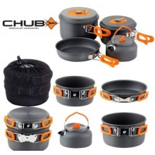 CHUB ALL IN ONE COOK SET COMPLETO DI PENTOLE PER CAMPEGGIO