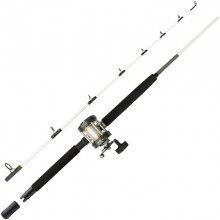 MITCHELL COMBO PERFORMANCE BOAT TRAINA BARCA 1.68 m - 15-40 lb - Mulinello  CT300 R