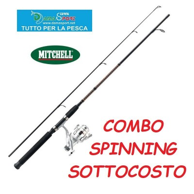 MITCHELL GT PRO COMBO SPIN KIT SPINNING PESCA mt 2,10 gr 7-20