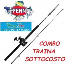 Penn Warfare Combo 20 Lb cm 210  Kit Traina