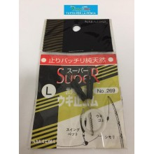 Nakazima Super stopper galleggiante in gomma Misura L