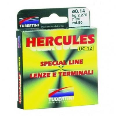 TUBERTINI Monofilo HERCULES UC-12 50 mt  0,07 mm