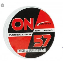 TUBERTINI Monofilo Fluorocarbon ON 57  50 mt 0,077 mm