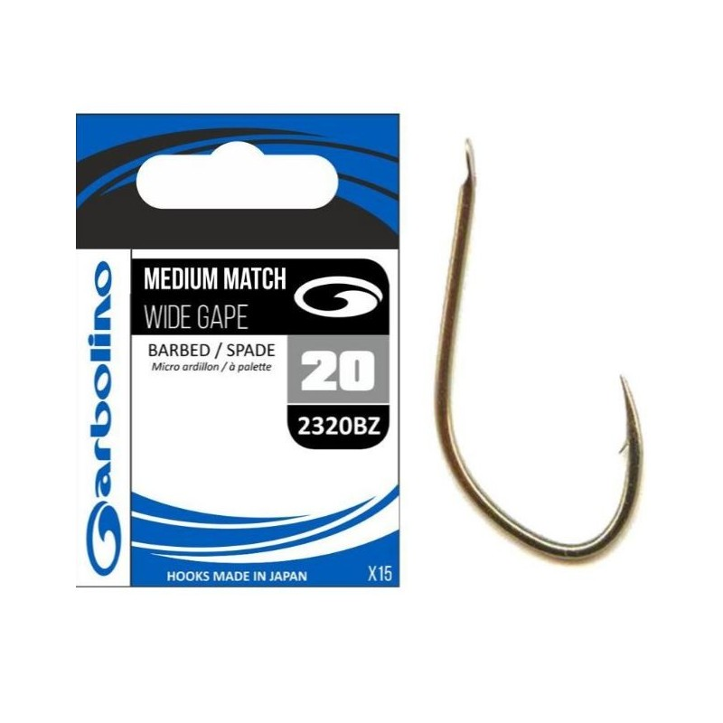 Garbolino Ami MEDIUM MATCH WIDE GAPE 2320BZ Size 12