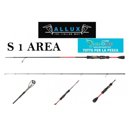 ALCEDO ALLUX AREA S1 CANNA TROUT AREA 6'0'' mt 1,80